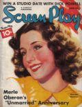 Norma Shearer on the cover of Screen Play (United States) - June 1936