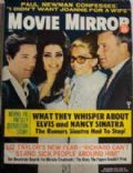 Elvis Presley on the cover of Movie Mirror (United States) - December 1968