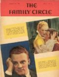 James Cagney on the cover of Family Circle (United States) - August 1935