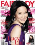Lucy Liu on the cover of Fairlady (South Africa) - April 2013