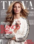 Lauren Santo Domingo on the cover of Telva (Spain) - August 2013