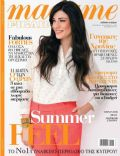 Ivi Adamou on the cover of Madame Figaro (Cyprus) - July 2013