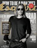 Brad Pitt on the cover of Esquire (United States) - July 2013