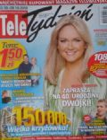 Grazyna Torbicka on the cover of Tele Tydzie (Poland) - October 2010