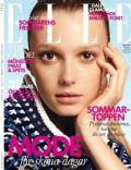 Sigrid Agren on the cover of Elle (Sweden) - July 2012