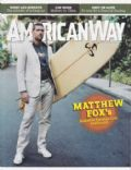 Matthew Fox on the cover of American Way (United States) - December 2006