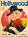 Virginia Bruce on the cover of Hollywood (United States) - December 1935