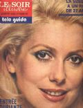 Catherine Deneuve on the cover of Le Soir Illustre (Belgium) - September 1973