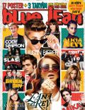 Alicia Keys, Anastacia, Beyoncé Knowles, Cody Simpson, Demi Lovato, Justin Bieber, Lana Del Rey, Mika, Robert Pattinson, Slash on the cover of Blue Jean (Turkey) - January 2013