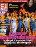 Eva Longoria, Felicity Huffman, Marcia Cross, Nicollette Sheridan, Teri Hatcher on the cover of Cine Tele Revue (Belgium) - November 2007