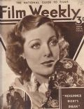 Loretta Young on the cover of Film Weekly (United Kingdom) - February 1935