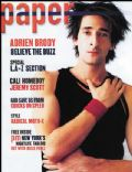 Adrien Brody on the cover of Paper (United States) - January 2003