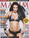 Amy Weber on the cover of Maxim (Germany) - February 2010