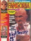 Robert Englund on the cover of Fangoria (United States) - August 1989