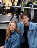 Corey Fogelmanis and Peyton List
