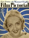 Bette Davis on the cover of Film Pictorial (United Kingdom) - October 1932