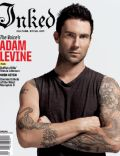 Adam Levine on the cover of Inked (United States) - September 2012