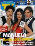Manuela Arcuri on the cover of TV Sorrisi E Canzoni (Italy) - June 2013