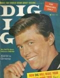 Edd Byrnes on the cover of Dig (United States) - May 1959