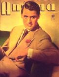 Cary Grant on the cover of Antena (Argentina) - January 1951