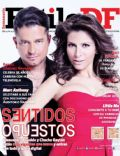 Alessandra Rosaldo, Chacho Gaytán, Sentidos Opuestos on the cover of Estilo Df (Mexico) - March 2014