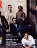 Brad Pitt, Dennis Quaid, Don Cheadle, Edward Norton, Ewan McGregor, Harrison Ford, Hugh Grant, Jack Nicholson, Jude Law, Matt Damon, Samuel L. Jackson, Tom Cruise, Tom Hanks on the cover of Vanity Fair (United States) - April 2003