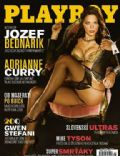 Adrianne Curry on the cover of Playboy (Slovakia) - January 2008