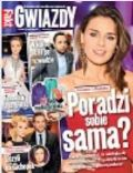 Natasza Urbanska on the cover of Gwiazdy (Poland) - February 2013
