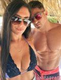 Christian Biscardi and Sammi 'Sweetheart' Giancola