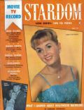 Debbie Reynolds on the cover of Stardom (United States) - May 1959