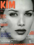Janset on the cover of Kim (Turkey) - January 1997