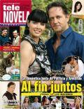 Corazón apasionado, Guy Ecker, Marlene Favela on the cover of Tele Novela (Spain) - July 2012