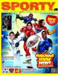Didier Drogba, Kaká, Lionel Messi, Samuel Eto'o, Zlatan Ibrahimovic on the cover of Sporty Jr (Greece) - February 2011