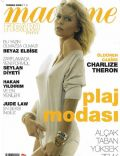 Charlize Theron on the cover of Madame Figaro (Turkey) - July 2009