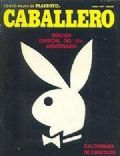 Rabbit Head on the cover of Playboy (Mexico) - April 1977