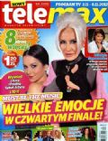 Kora Jackowska, Paulina Sykut on the cover of Tele Max (Poland) - November 2012