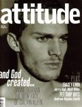 Jamie Dornan on the cover of Attitude (United Kingdom) - May 2006