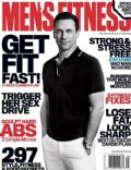 Jon Hamm on the cover of Mens Fitness (United States) - May 2014