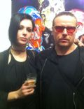 Ian Astbury and Aimee Nash
