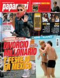 Eugenia Tobal, Nicolás Cabré, Nicolás Cabré and Eugenia Tobal on the cover of Paparazzi (Argentina) - May 2012