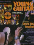Stevie Ray Vaughan on the cover of Young Guitar (Japan) - September 2003