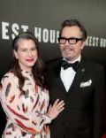 Gary Oldman and Gisèle Schmidt