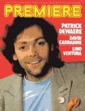 Patrick Dewaere on the cover of Premiere (France) - January 1978