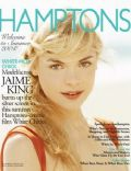 Jaime King, Jamie King on the cover of Hamptons (United States) - April 2004