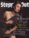 Stana Katic on the cover of Steppin Out (United States) - November 2007