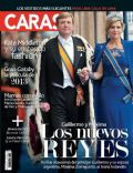 King Willem-Alexander Of The Netherlands, Queen Maxima Of Netherlands on the cover of Caras (Peru) - May 2013