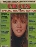 Stevie Nicks on the cover of Circus (United States) - December 1981