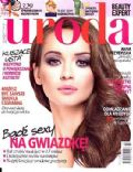 Anna Przybylska on the cover of Uroda (Poland) - December 2011