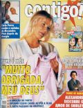 Alexandre Pires, Carla Perez, Marcos Palmeira, Torre de Babel, Xuxa Meneghel on the cover of Contigo (Brazil) - August 1998