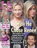 Jennifer Aniston, Renée Zellweger on the cover of Us Magazine (United States) - August 2009